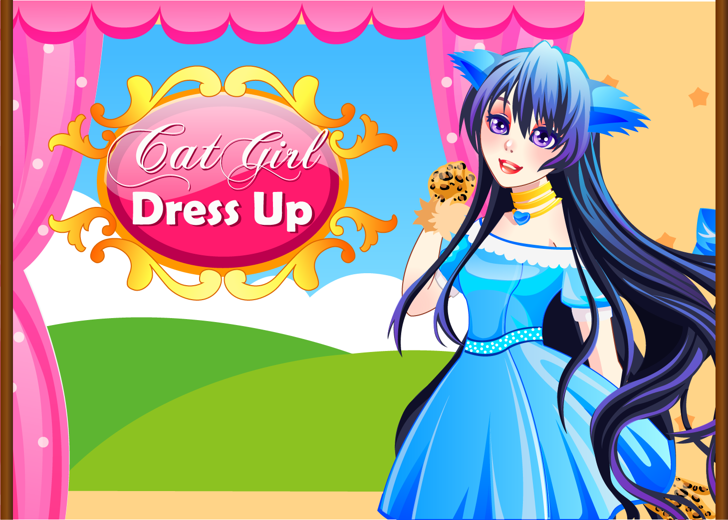 Cat girl dress up video igrice free online flash and html5 games