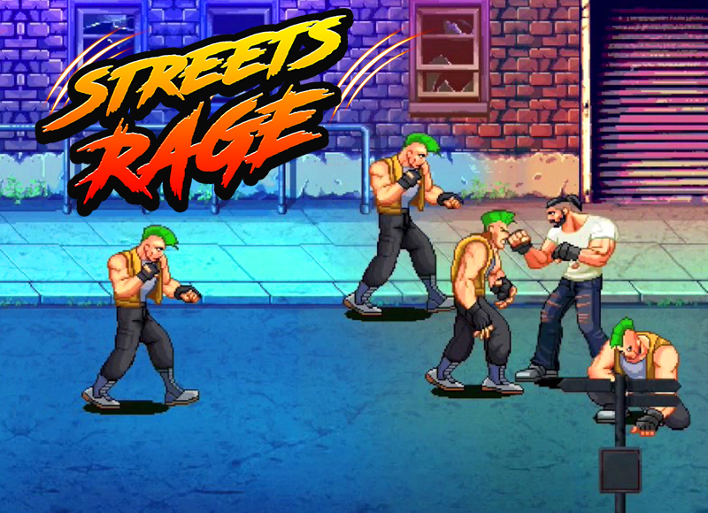 Streets Rage Fight Juegos Friv 2018