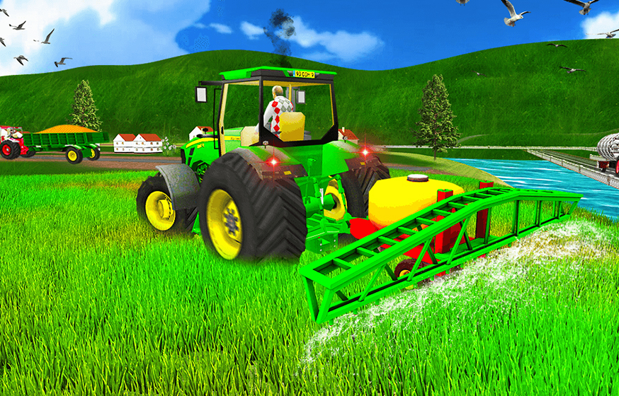 Farming Simulator - Free Online Game - Play Now | Kizi